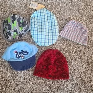 Boys Hat 5pc Bundle